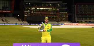 Glenn Maxwell and Alex Carey scored centuries to help Australia win the ODI series against England 2-1.