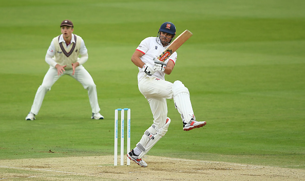 Sir Alastair Cook scored a superb century in the final for Essex.