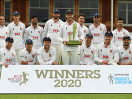 The Bob Willis Trophy was won by Essex County Cricket Club after they defeated Somerset County Cricket Club in the final.