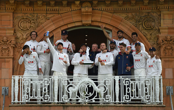 Essex claimed their third title in two years