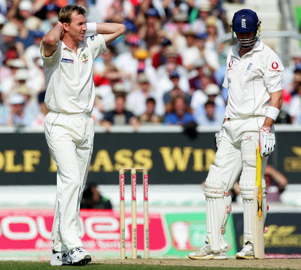 Kevin Pietersen hit Brett Lee for successive sixes after lunch at the Oval