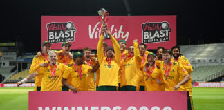 Notts Outlaws win the T20 Blast 2020 beating Surrey in the final.