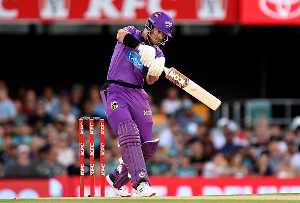 In the Big Bash League, D'Arcy short has been the best among batsmen for the Hobart Hurricanes.