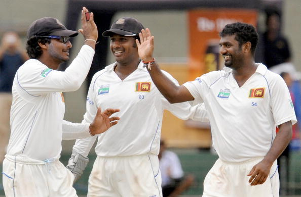 Muttiah Muralitharan and Kumar Sangakkara are easy picks in the Sri Lankan all-time test match XI.