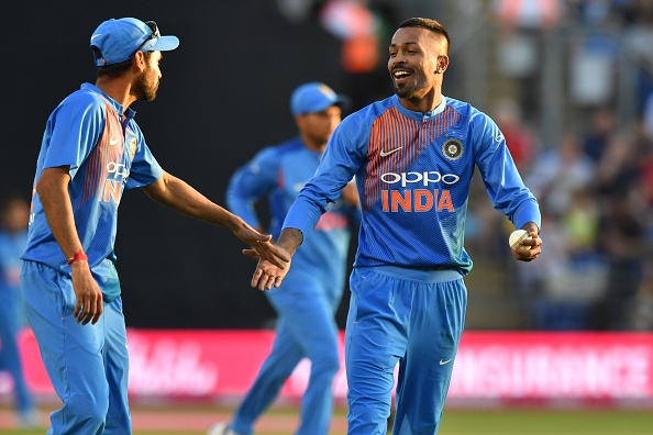Hardik Pandya is the key Indian all-rounder in the all-time T20 XI.