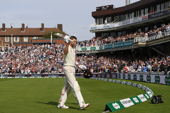 Joe Root scored 125 against India in 2018, putting on a 259 run stand with Alastair Cook.
