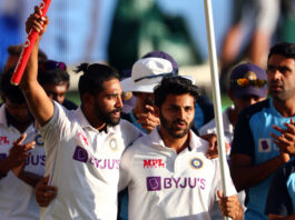 The Border-Gavaskar Trophy 2020-21 was won by India 2-1 through the performances of debutants such as Shardul Thakur and Mohammed Siraj.