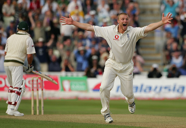 Flintoff helped England beat Australia in one of the greatest test matches of all-time.