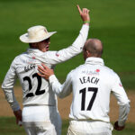 Dom Bess and Jack Leach are both in the frame to be England's main test spinner in the summer.