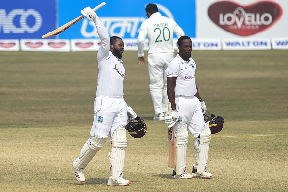 Kyle Mayers and Rahkeem Cornwall were responsible for the Windies test series victory over Bangladesh.