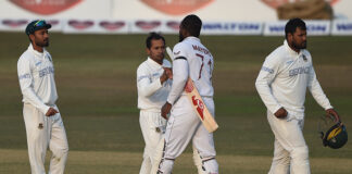 How will the Bangladesh test team respond in the second test at Dhaka against the West Indies?