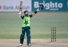 Mohammad Rizwan broke multiple records in the first two T20I's against South Africa.
