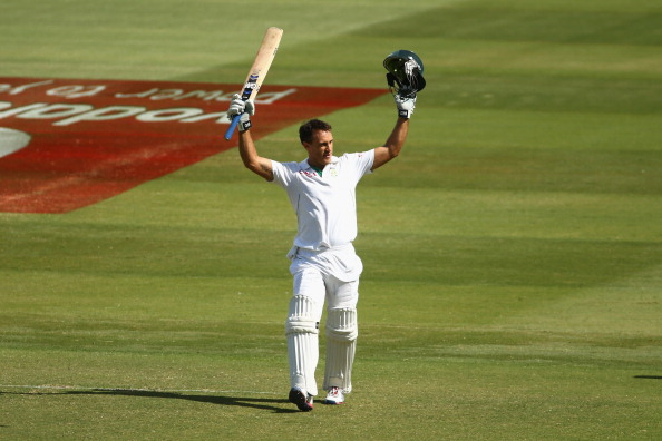 Faf Du Plessis scored a superb century against Australia on test debut to draw the game.