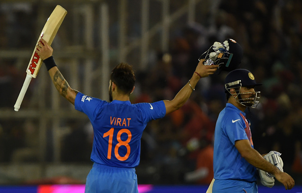 In ODI cricket, Virat Kohli is the best finisher in the world because he times his innings perfectly to chase down totals.