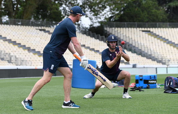 Paul Collingwood is the England Cricket fielding coach because he was one of the best fielders in the world in the slips.