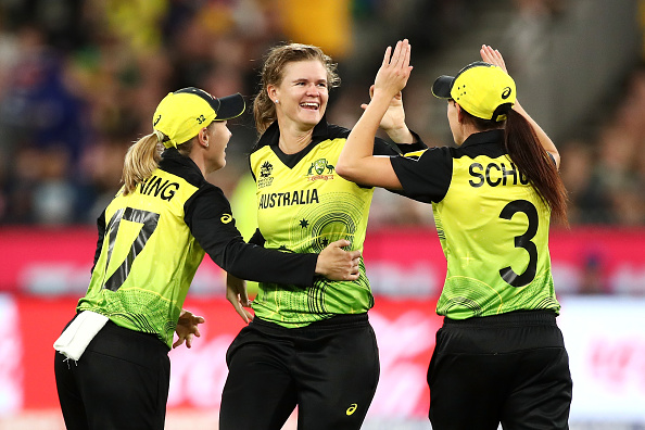 Jess Jonassen and Megan Schutt are both on the list of the best female cricket bowlers in the world.