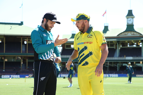 The jerseys worn by Australia and New Zealand, both retro, are two of the best cricket kits of all-time.