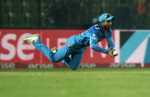 Ravindra Jadeja is currently the best fielder in the world, in cricket.