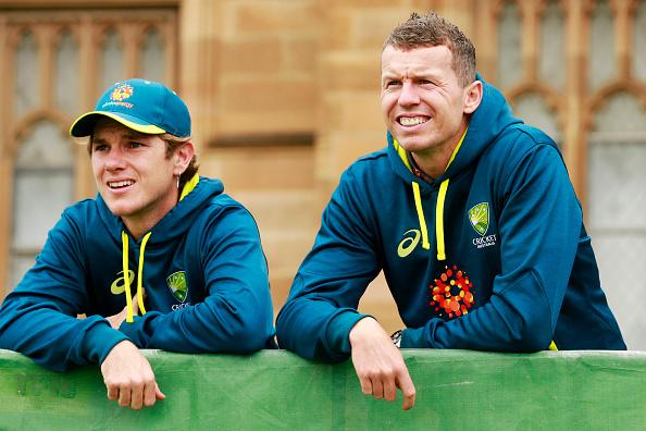 Both Peter Siddle and Adam Zampa are vegan cricketers and both play for Australia.