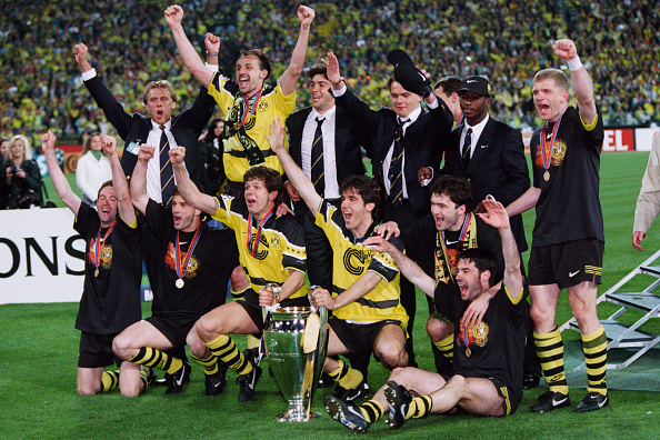 the 1996 97 borussia dortmund side champions league winners 20 years ago last word on football the 1996 97 borussia dortmund side