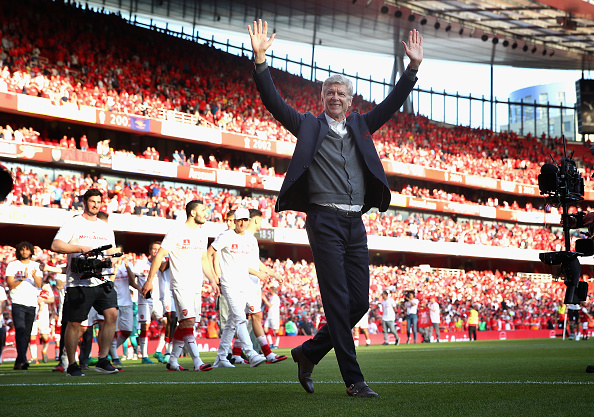 Wenger bids The Emirates