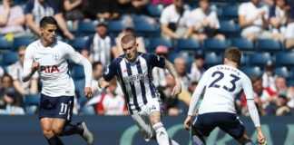 The Baggies in crucial victory over Spurs