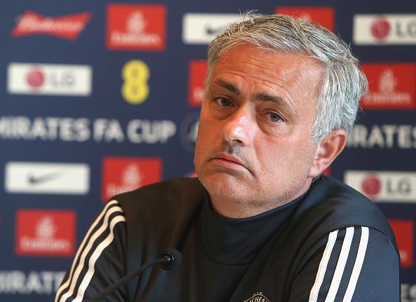 José Mourinho following FA Cup defeat