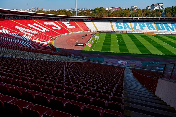 First Place Liverpool Visit Red Star Belgrade In The