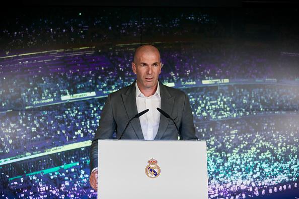 Zidane back