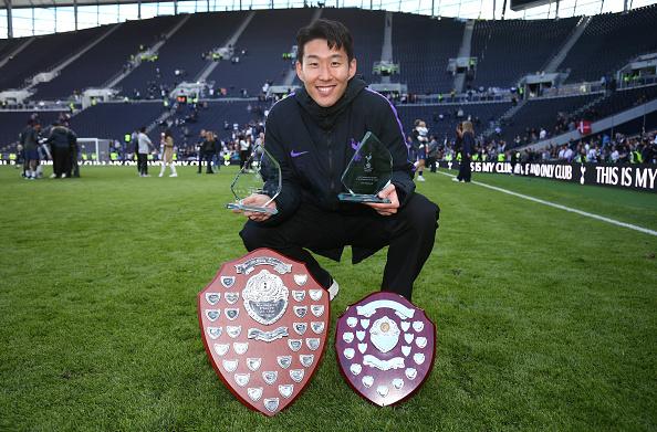 Son Heung-min wins
