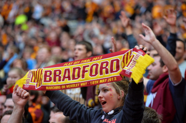 Bradford City's Play-off winners