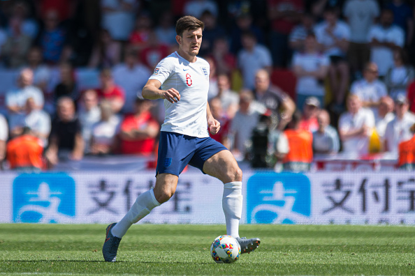 English Stars harry maguire