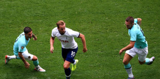 Rested Harry Kane