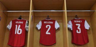 Hector Bellerin and Kieran Tierney