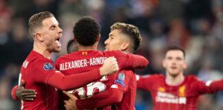 Liverpool clean sheet