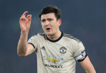 Harry Maguire captain