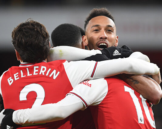Arsenal's first league win