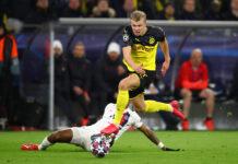 Borussia Dortmund's Erling Haaland