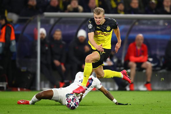Borussia Dortmund S Erling Haaland Future Best Striker In The World
