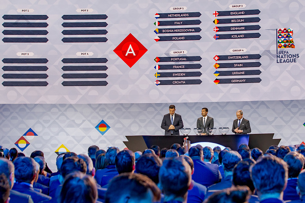 2020-21 UEFA Nations League A Draw