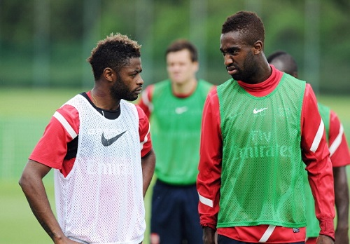 Alex Song Johan Djourou