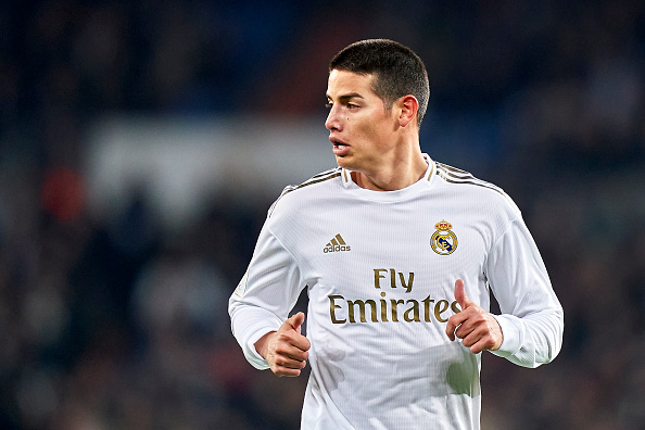 REPORT: Real Madrid Make Shock James Rodriguez Move Amid Manchester United Interest - Last Word On Football