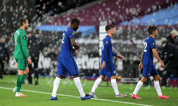 Chelsea top four