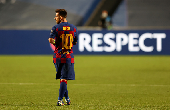Messi to leave Barcelona