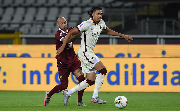 Chris Smalling Roma