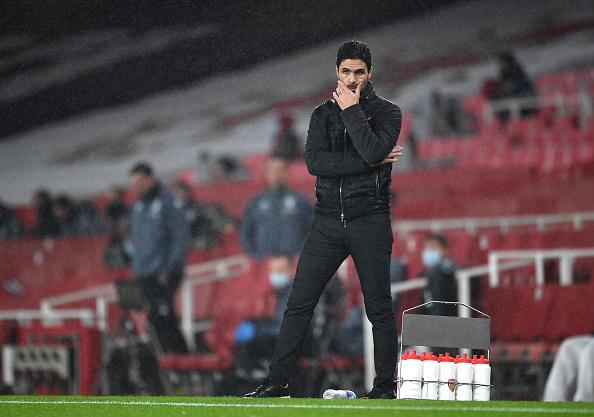 Mikel Arteta Arsenal Aston Villa