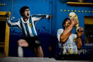 Diego Maradona Death Minute's Silence