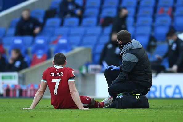Liverpool injury