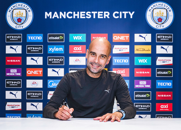 Pep Guardiola Signs New Contract