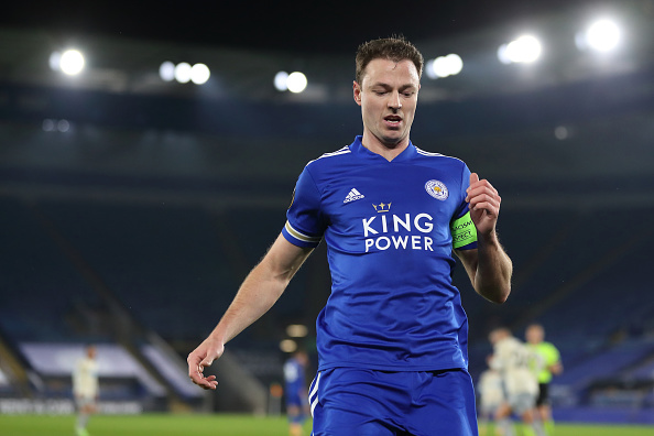 Jonny Evans Leicester Contract